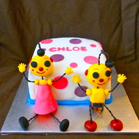 Rolie Polie Olie This was a cake request for a little girls birthday. I was quite happy with how the figures turned out. The cake is a chiffon cake, with a...