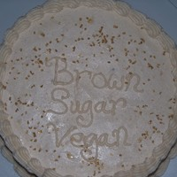Vegan Brown Sugar Cake My first attempt at the Vegan Brown Sugar recipe I got from CC and my own recipe of Vegan Cinnamon Buttercream!! Both tasted great! This...