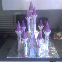Castle  First Birthday Castle, I used the Wilton Castle set, I really enjoyed making this cake but I would try to find a better way to adhere the...