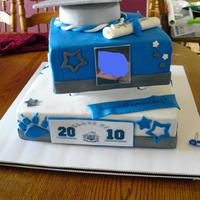 Grad Cake Love the SPS... traveled with this cake over 70 miles!!! Whew, no problems!