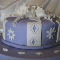 My First Cake Class   I had a great time in my fondant and gumpaste class. Can't wait to take the other classes!