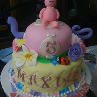 Teapot Yo Gabba Gabba Cake I love this cake, it was inspired by Mayen from Way Beyond Cakes and this was my third fondant cake ... our little niece was so excited...