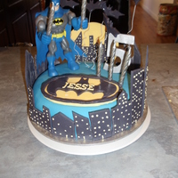 Batman Cake this is my son's 5th birthday cake i made with inspiration from cakes on here. thank you for looking :)