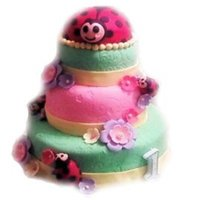 Ladybug Ladybug This was my first cake EVER! I took on the challenge of making this cake for my daughter's firts birthday and have been making cakes...