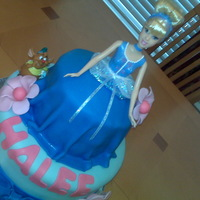 Cinderella Doll Cake Birthday Cake for a special girl.