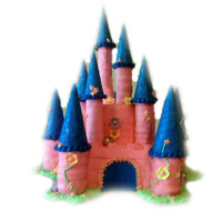 Princess Castle Cake Birthday cake for a pretty princess!