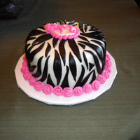 Zebra Cake!   This is my absolute favorite cake so far! All done in buttercream and MF. TFL!