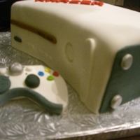X-Box When one of my clients ordered an X-Box cake for her 12yr. old son, I've never seen one before. I really had a great time creating...