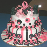 Seven Lakes Dance Cake My niece attends a small dance studio in North Carolina. I thought it would be a good fundraiser to raffle off a cake. Their studio '...