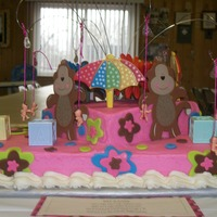 Baby Monkeys My DIL's best friend cake request for her baby shower