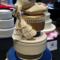 Wssa Foreign Technique Wedding Entry I entered this cake into the WSSA competition for 2011 and won my category, yay! The theme was here comes the bride, so I chose to sculpt...