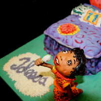 Joleesa's 11Th Bedroom Icing Smiles All upright elements are gumpaste, fondant bedding and rug. Another creation for Icing Smiles, Inc. Joleesa loves cheetah girls, I created...