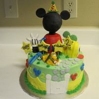 Mickey Mouse Clubhouse Cake mickey mouse, mickey mouse clubhouse