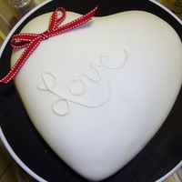 Endless Love My 1st attempt at fondant