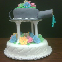 Final Cake In Fondant Class