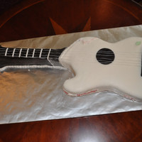 Guitar 13th birthday.had issues with the fondant...