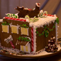 2010 Gingerbread House