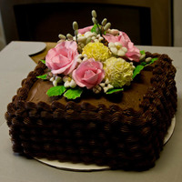 Chocolate Mother's Day Cake