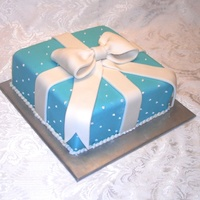 Tiffany's Box With Ribbon And Bow