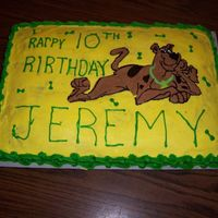 Jeremy's Birthday Cake