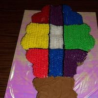 Balloon Fiesta Cupcake Cake I made this for my son's class as we will be going to our states anual Balloon Fiesta on Friday .This is my first CCC I really enjoyed...