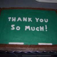 Appreciation Cake My friend asked me to make this cake as athank you to a teacher who has really helped her class grow so much from last year !! Thanks to...
