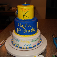 End Of The School Year Cake