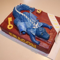 Eragon Birthday Cake   For my daughter's 10th birthday
