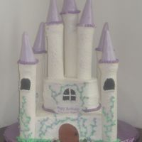 Castle This was for my daughter's 3rd birthday. She is my little princess so I had to make her a castle cake. This was a lot harder than I...