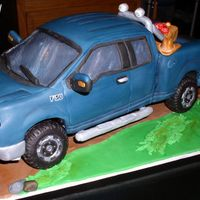 Ford F-150 My entry into the 2011 Connecticut Cake Competition. So that the looked as though it's on it's wheels not on a solid block, the...