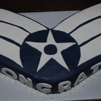 Senior Airman Stripes This cake was made for an airman that made Senior Airman Below the Zone.