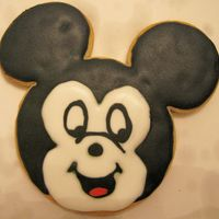 Mickey Mouse Just got this new cookie cutter and couldn't wait to try it!