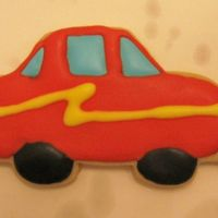 Car Cookie I made these for the boys in DD's class.