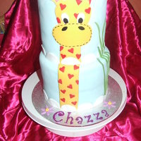 Giraffe Double Stacked Cake This is a cake i made in a day for my sister's birthday. Mind you, she is 24!! Anyway, I was only given a days notice that she was...