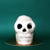 Skull Cake Very chocolatey skull cake