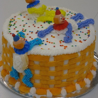 Clown Cake I'm not a huge fan of clowns (saw the movie IT at too young of age, lol), but we had to make a clown cake for a class I took. It...