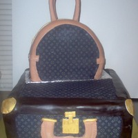 Lv Luggage Set