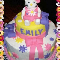 Kitty Birthday Cake   made for my grandaughter on her 1st birthday