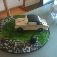 Convertible Fathers Day Cake Only 3Rd Ever Cake! Convertible car cake for fathers day and it was only my 3rd ever cake!