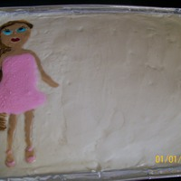 Bratz Girl Sasha Bratz Doll Birthday Cake