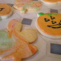 Leaf Swirl Cookies And Jack-O-Lanterns
