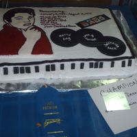 Remembering Elvis I made this cake for the county fair last year (2006). I was so thrilled it was the grand champion cake of the whole cake decorating...