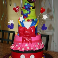 Disney Inspired Cake My daughter's birthday cake