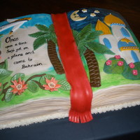 Book Cake   my 30th birthday cake- sort of tells the story of my life!
