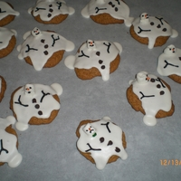 I'm Melting My melting snowman cookies, inspired by very many wonderful decorators here on CC.