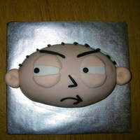 Stewie From Family Guy Birthday cake for my BIL.