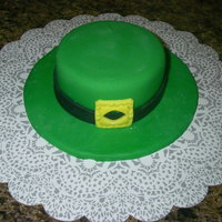 St. Patrick's Hat Made this for a St P. Day's display.