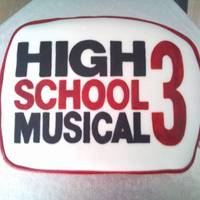 High School Musical for a little girls 8th........ she loves hsm and bags so she has both in a cake