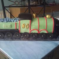 Train special cake for an 80yr old dad who used to work on the railway