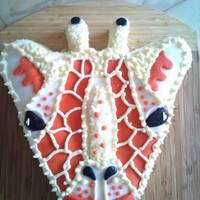 Giraffe made this for a little boy mad on giraffes..........